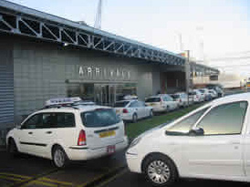 Taxi Rank Outside Cruise Arrivals